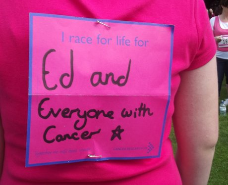 Race For Life - Rugby - Messages
