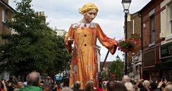 Lady Godiva Marionette