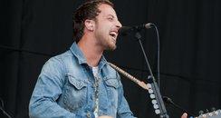 James Morrison at V Festival