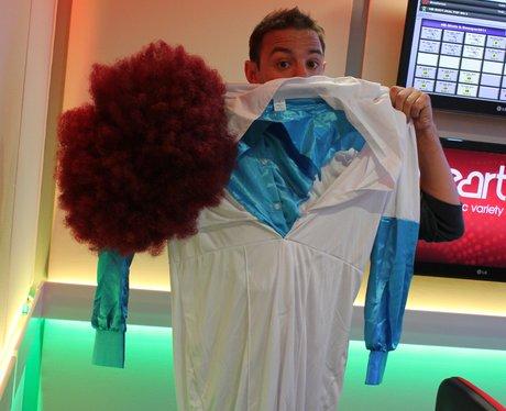 JK Sizes Up His Costume