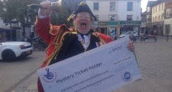 Lottery Town Crier