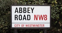An old Abbey Road sign fetched £4,350