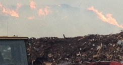 Fire At Recycling Centre In St Albans