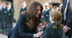 The Duchess of Cambridge visits St Andrews