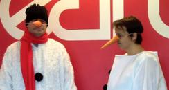 Martin and Su Snowmen