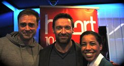 Hugh Jackman on Heart Breakfast