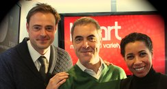 James Nesbit on Heart Breakfast