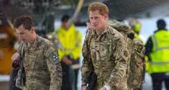 Prince Harry: RAF Brize Norton