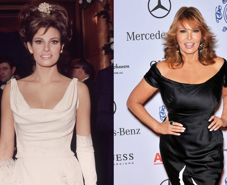 young Raquel Welch and Raquel Welch age 72Raquel Welch Now And Then