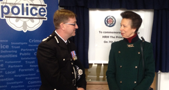 Princess Anne Visits Northamptonshire