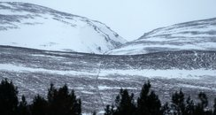 Chalamain Gap area of the Cairngorms