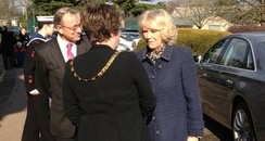 Camilla At Bletchley Park