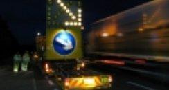 Highways works at night