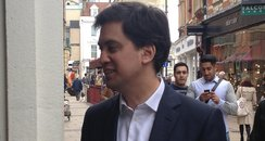 Ed Miliband In Cambridge