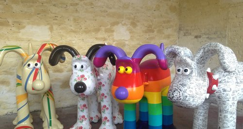 Gromit Unleashed designs