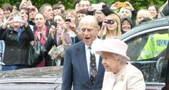 The Queen at Rosie Maternity Hospital