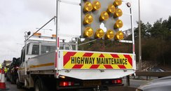 HA Highways Agency Roadworks