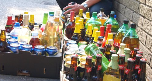 £400 of booze seized from under-age drinkers