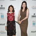 susan sarandon and geena davis at Beyond Hunger