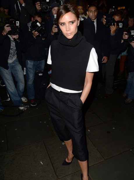 Victoria Beckham London Fashion Week 2013