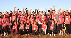 Brighton Half Marathon 2013 Team Photo