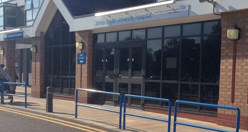 The James Paget Hospital in Gorleston