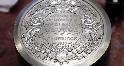 Prince George Silver Coin