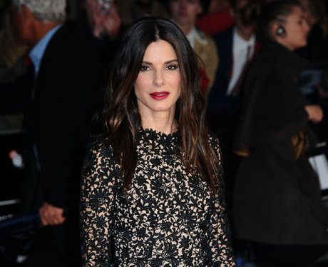 Sandra Bullock Gravity London premiere October 201