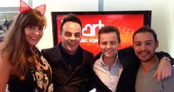 JK and Lucy with Ant and Dec