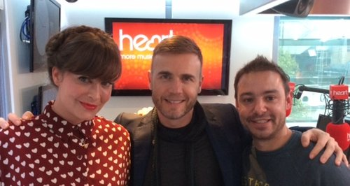 JK & Lucy with Gary Barlow