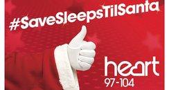 Save Sleeps till Santa poster