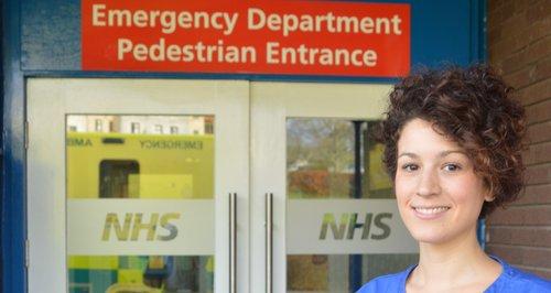 New entrances mean quicker treatment for patients