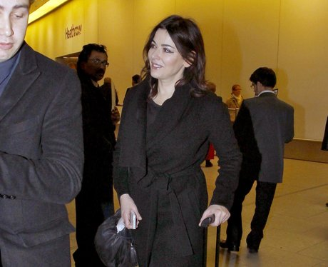 Nigella Lawson arrives in London