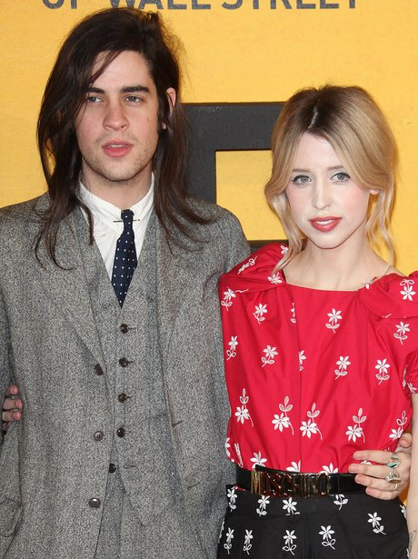 Tom Cohen and Peaches Geldof on the red carpet