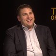 Jonah Hill in a grey suit