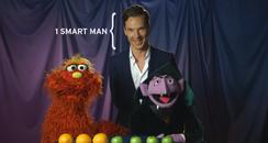 Benedict Cumberbatch on Sesame Street