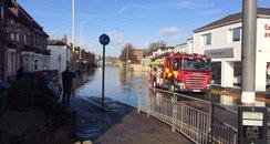 Watford High Street Flooding