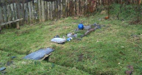 grave in devon, scarlett keeling