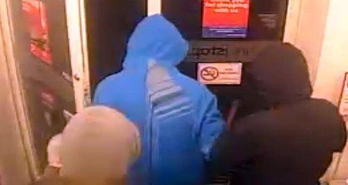 CCTV Of WGC Robbery 2