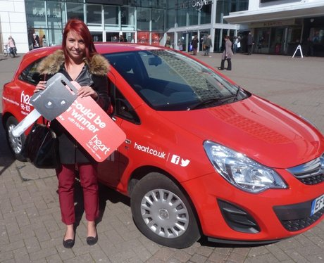 Heart Angels: Vauxhall Corsa Sting Car Giveaway (24 March 2014)