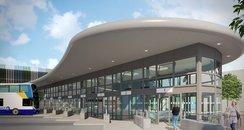 Bedford Bus Station - Artists' Impression