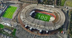 Hampden Park marks 100 days to the Games
