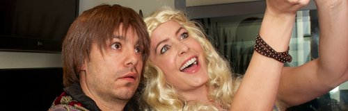 JK and Lucy Game Of Thrones Dress up Selfie