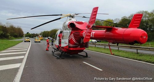 A1 Crash Stevenage