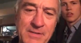 Robert De Niro close up