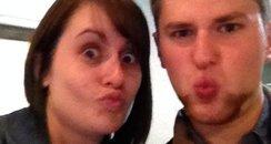 Nicola & Ethan Selfie