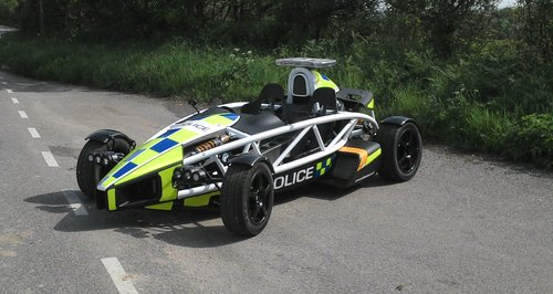 The Ariel Atom - which has been loaned to Avon and