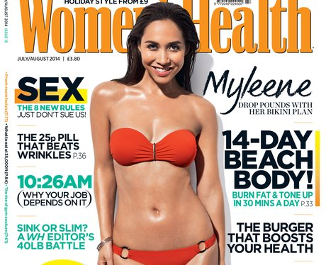 Myleene Klass Women's Health Cover