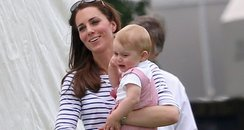 Prince George with Kate Duchess of Cambridge