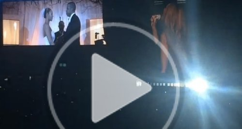 Beyonce and Jay Z Wedding Footage
